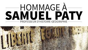 Hommage à Samuel Paty - Communiqué