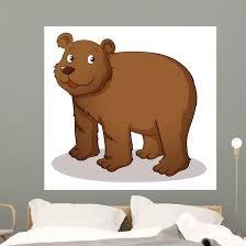 Cartoon Bear Wall Decal Wallmonkeys Com