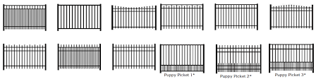 Ornamental Aluminum Steel Northern Fence