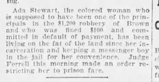 1899 misc Ada Stewart all conveniences in prison - Newspapers.com