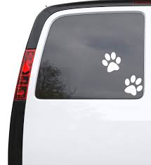 Auto Car Sticker Decal Cartoon Wolf Paw Prints Truck Laptop Window 5 Wallstickers4you