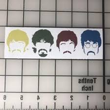 The Beatles Car Decal Cardecal