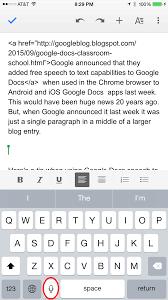 Google Docs Voice Typing lets you speak ...