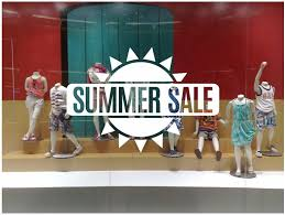 Summer Sale Sun Shop Window Decal Easy To Paste Or Remove Etsy