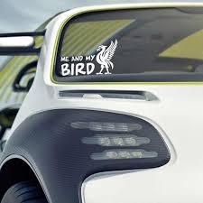 Car Styling Me And My Bird Liver Bird Liverpool Car Sticker Wall Laptop Window Stickers Aliexpress