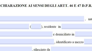 Nuovo modulo di autodichiarazione per spostarsi in Italia 24 marzo
