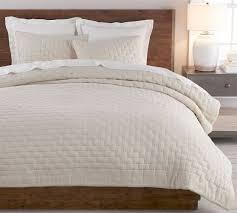 bliss cotton linen blend quilt shams