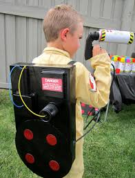 diy ghostbuster costume proton pack