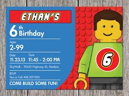 Free Printable Lego Birthday Invitations Invitacion Cumpleanos