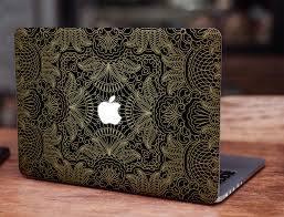 Gold Ornament Macbook Skin Macbook Sticker Macbook Decal Laptop Skin Laptop Sticker Laptop Decal Vinyl Decal Macbook Skin Macbook Decal Macbook