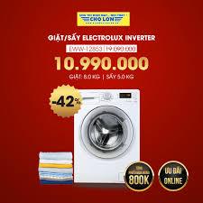 👕 Máy Giặt/Sấy ELECTROLUX EWW-12853 GIẢM... - Siêu Thị Điện Máy ...