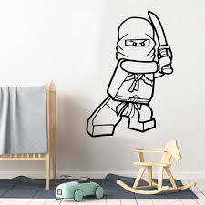 Lego Ninjago Wall Sticker For Baby S Rooms Decals Mural Lego Ninjago Stickers For Kids Room Art Wallpaper Naklejki Poster Buy At The Price Of 1 95 In Aliexpress Com Imall Com