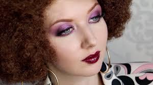 1970s disco makeup tutorial