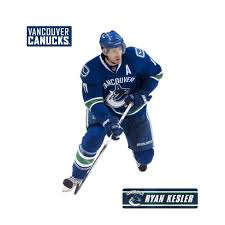 Ryan Kesler Fathead Jr Nhl Hockey Player Wall Accent Sticker Vancouver Canucks Target