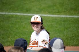 Former Falcon Fields Opportunity As Orioles Ball Girl | Severna Park