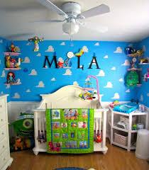Pixar Themed Nursery Project Nursery Disney Baby Rooms Disney Baby Nurseries Toy Story Bedroom