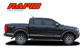 Rapid Rocker Ford Ranger Stripes Ford Ranger Decals Ranger Graphics