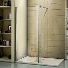 shower enclosure wet room screen panel