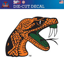 Victory Tailgate Florida A M University Rattlers 12x12 Die Cut Vinyl Decal Sports Outdoors Dprd Tasikmalayakab Go Id