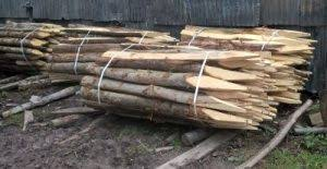 Stakes Posts Poles And Agricultural Fencing Say It With Wood