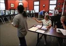 Mass. Primary 2006: Scenes from the polls - Boston.com