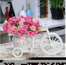 artificial flower silk plants