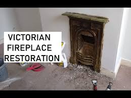 restoring a victorian fireplace