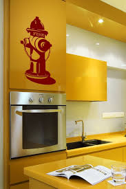 Fire Hydrant Vintage Wall Decals
