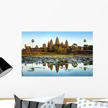 Angkor Wat Siem Reap Wall Decal Wallmonkeys Com