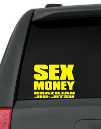 Sex Money Brazilian Jiu Jitsu Decal Pack
