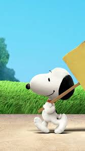 wallpaper the peanuts snoopy