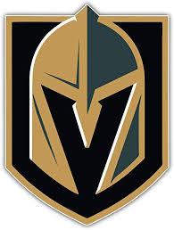 Amazon Com Hotprint Golden Knights Hockey Vegas Logo Sport Car Bumper Sticker Decal 4 X 5 Kitchen Dining