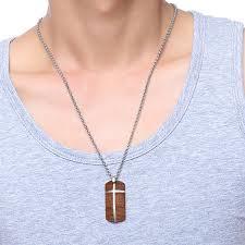 unique mens necklaces hand crafted