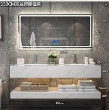 european modern 84 inch wall mounted