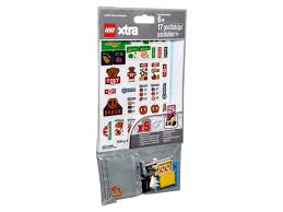 LEGO® xtra Brick Stickers 853921 | Xtra | Buy online at the Official ...