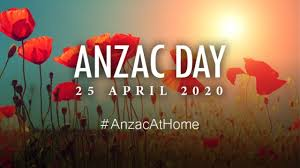 Join us online for ANZAC Day 2020 ...