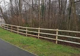 Half Round Rails Chart Fencing