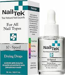 nail tek 10 sd polish drying drops