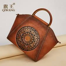 tote handbag vintage printing