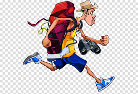 Image result for backpack travel cartoon