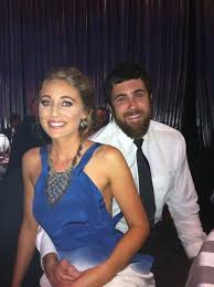 Lauren Atkinson with partner Josh Kennedy from the West Coast Eagles by  Tantastic Tanning using an avivalabs.com solu… | Aviva spray tan,  Celebrities, Spray tanning