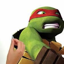 Teenage Mutant Ninja Turtles Raphael Giant Wall Decal Roommates Decor