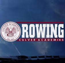 Culver Academies Rowing Decal Culver Eagle Outfitters