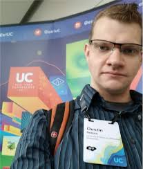 Dustin Nelson attends ESRI UC 2017 | Geographic Information ...