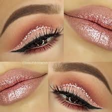 rose gold eyeshadow liked on polyvore