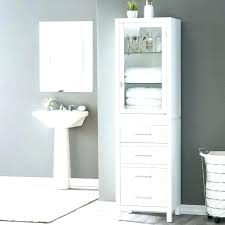 wicker bathroom storage cabinets wood