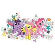 My Little Pony Giant Wall Decals Us Wall Decor