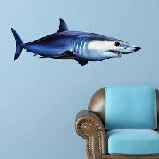 Shortfin Mako Shark Wall Decal Bold Wall Art