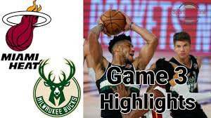 Bucks vs Heat HIGHLIGHTS Halftime