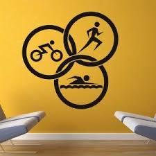 Triathlon Circles Trofeus Personalizados Ilustracoes Graficas Decoracao